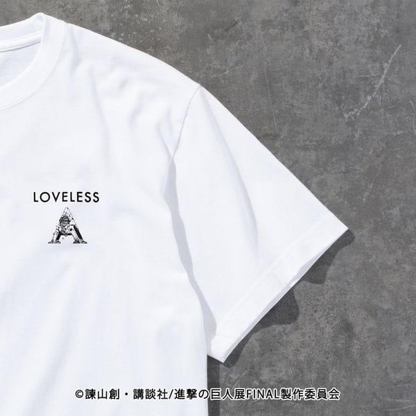 【LOVELESS×進撃の巨人】エレン・イェーガー コラボ Tシャツ
