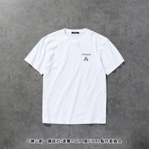 〈タイムセール〉【LOVELESS×進撃の巨人】エルヴィン・スミス コラボ Tシャツ