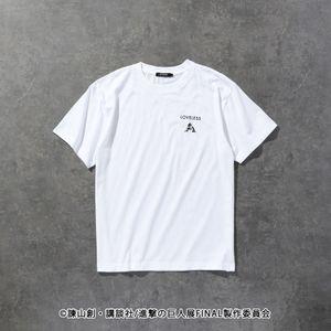 【LOVELESS×進撃の巨人】リヴァイ コラボ Tシャツ