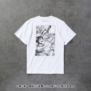 〈タイムセール〉【LOVELESS×進撃の巨人】ハンジ・ゾエ コラボ Tシャツ