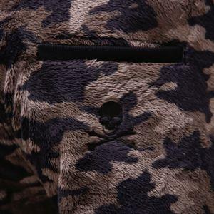 Safari カモフラ ボアフリース パンツ