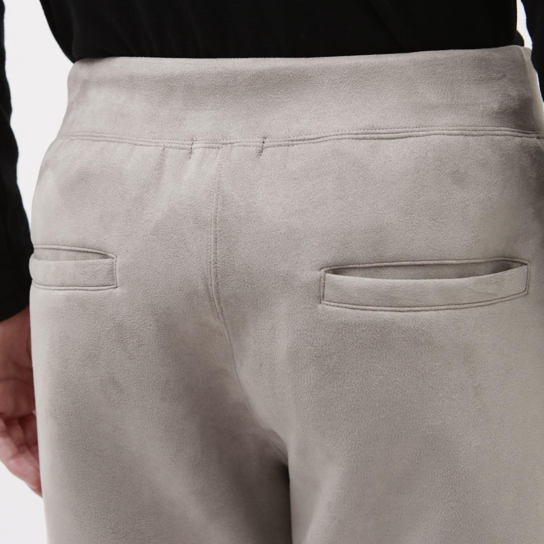 【Safari10月号掲載】スエードライク ジョガーズ パンツ