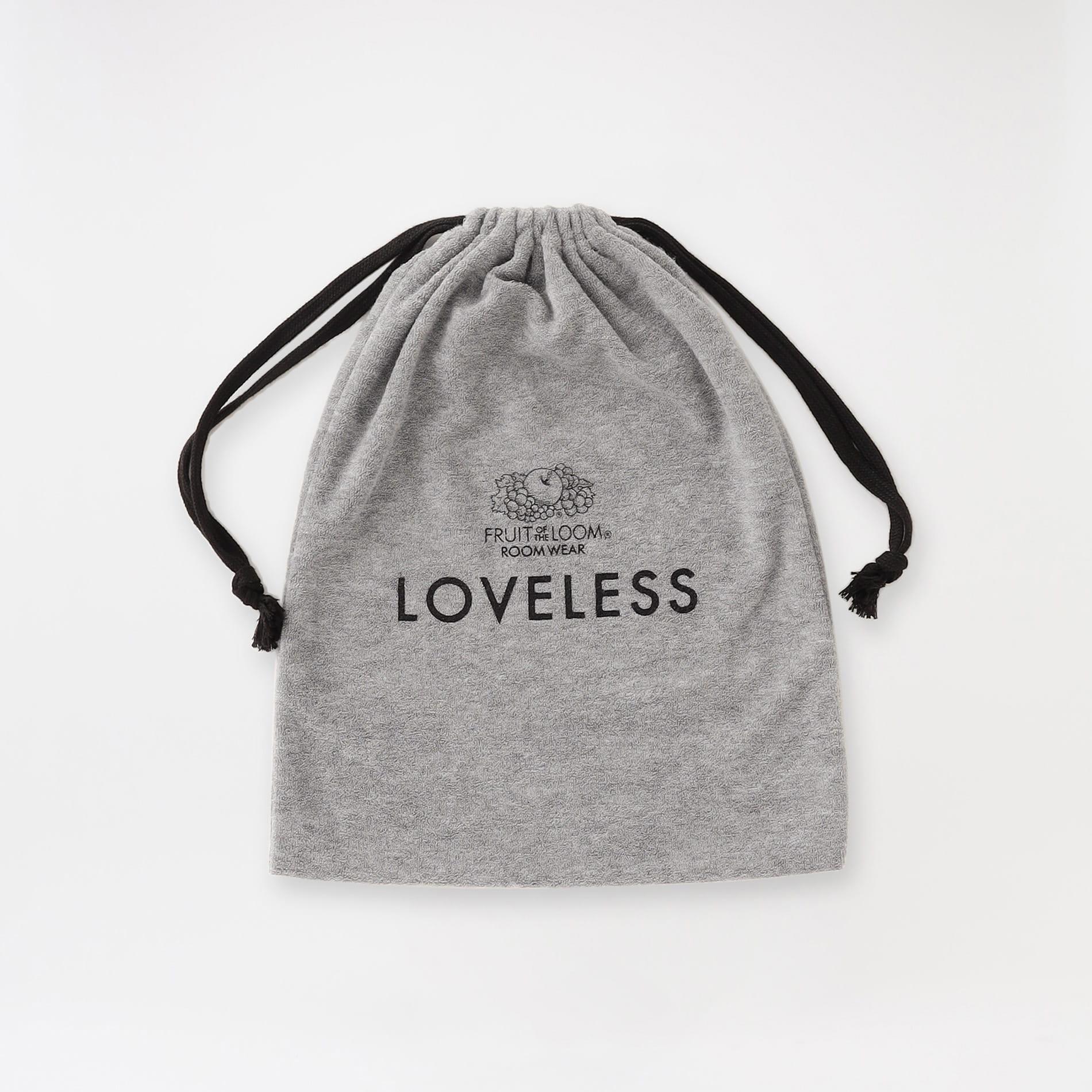 【LOVELESS×FRUIT OF THE LOOM】コラボ4アイテム ハーフシリーズ