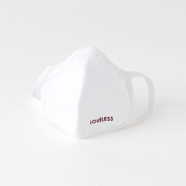LOVELESSロゴ 立体型マスク