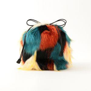 【BAGMATI】ファー巾着BAG