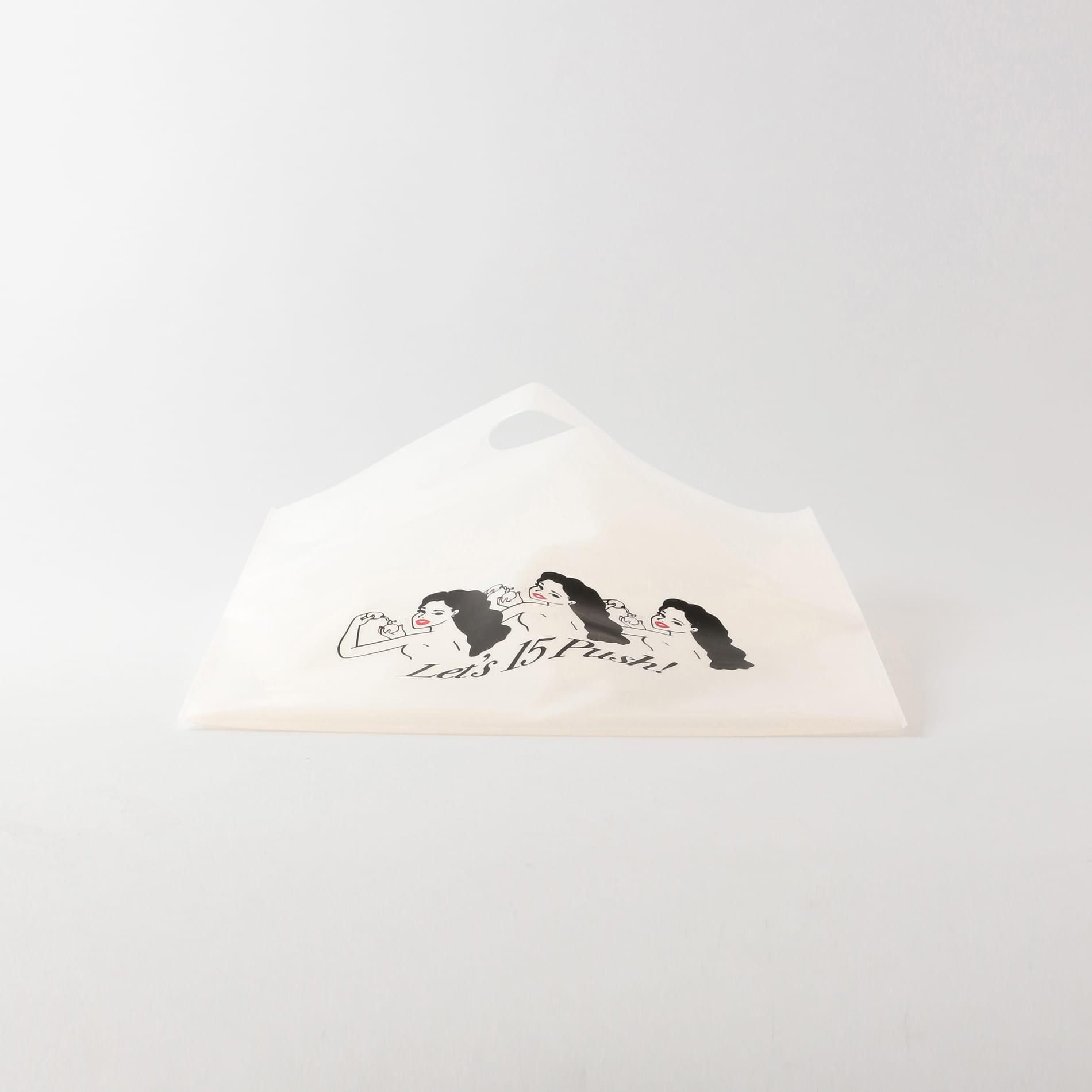 【LOVELESS×NO PANTIES】コラボ PVCバッグ