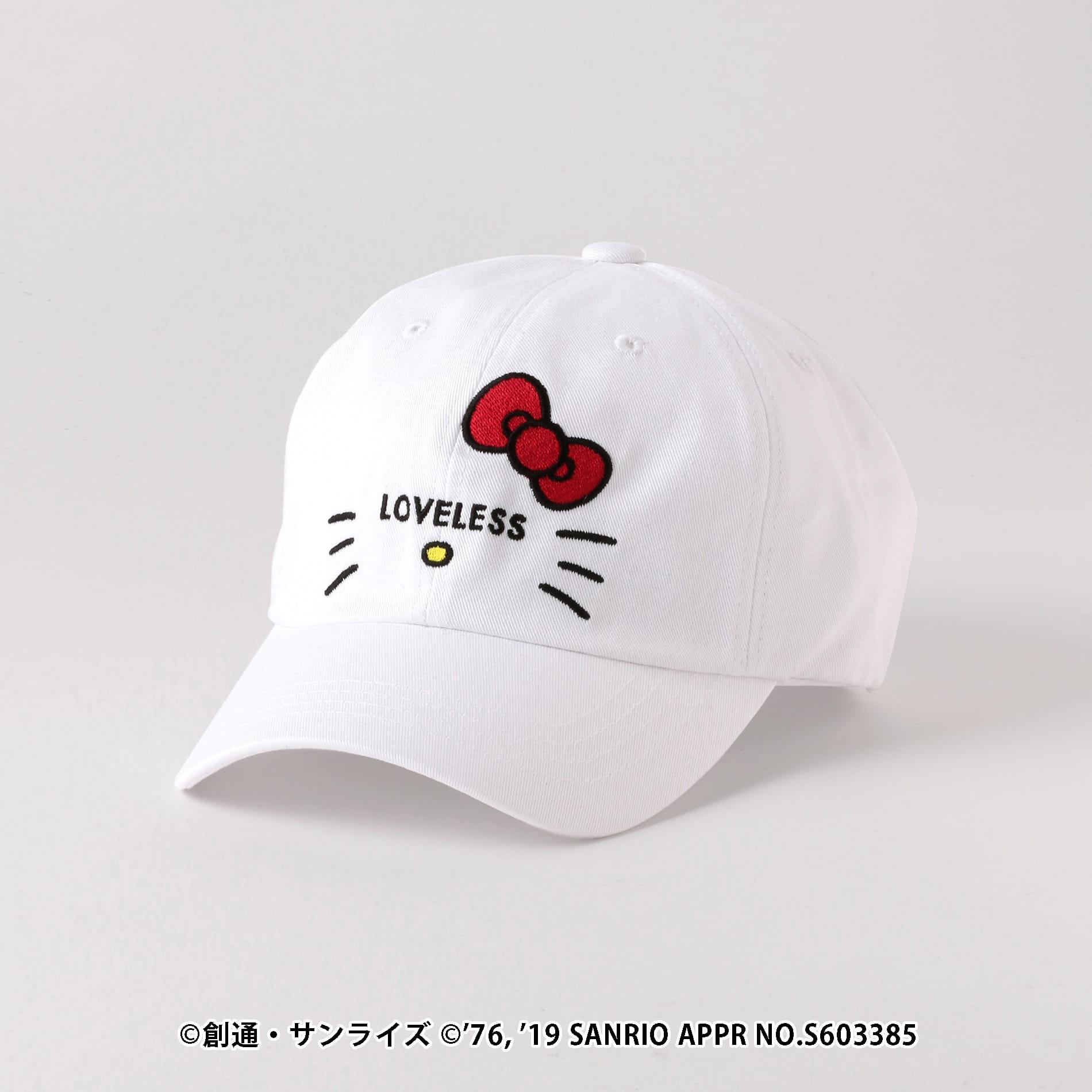 【LOVELESS×HELLO KITTY】キティロゴアイコラボキャップ