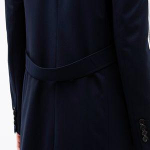 【otonaMUSE10月号掲載】サイドライン ブロッキング チェスターコート