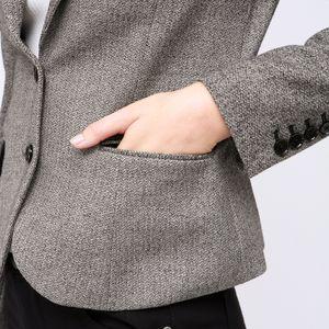 ツィードライク ストレッチ ジャケット