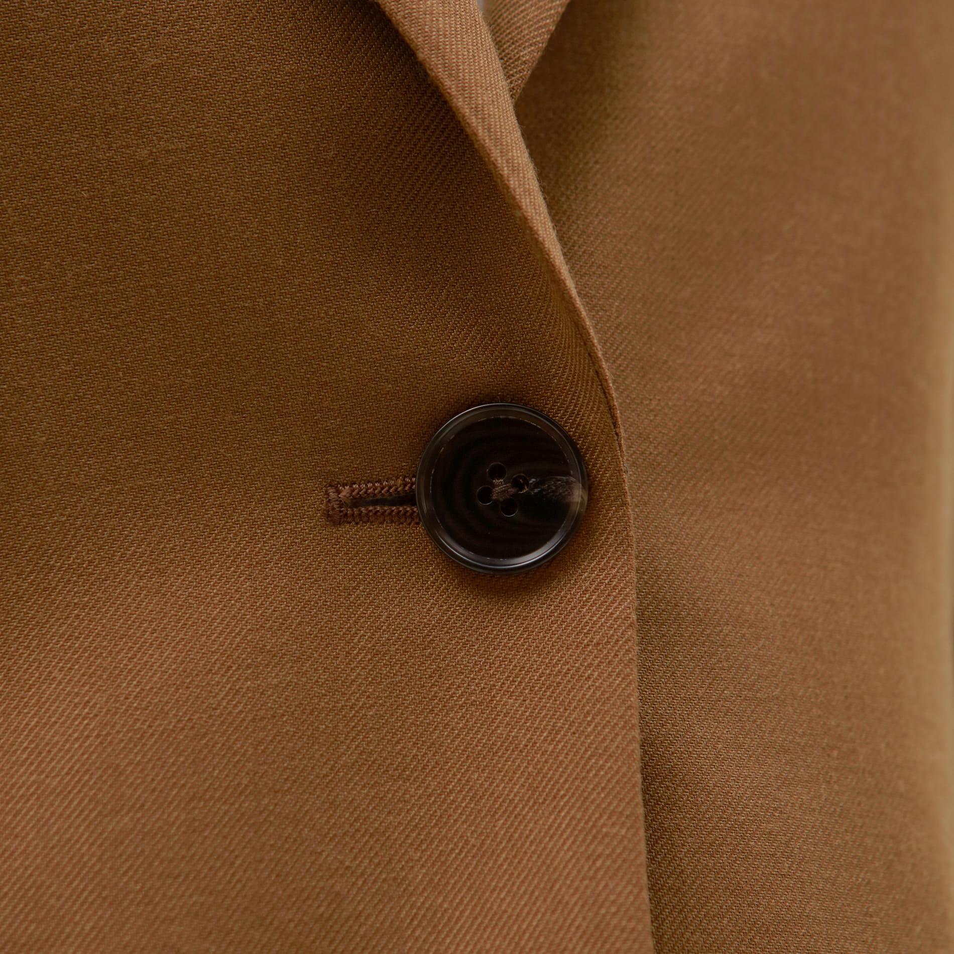 ブラウン シングル ジャケット