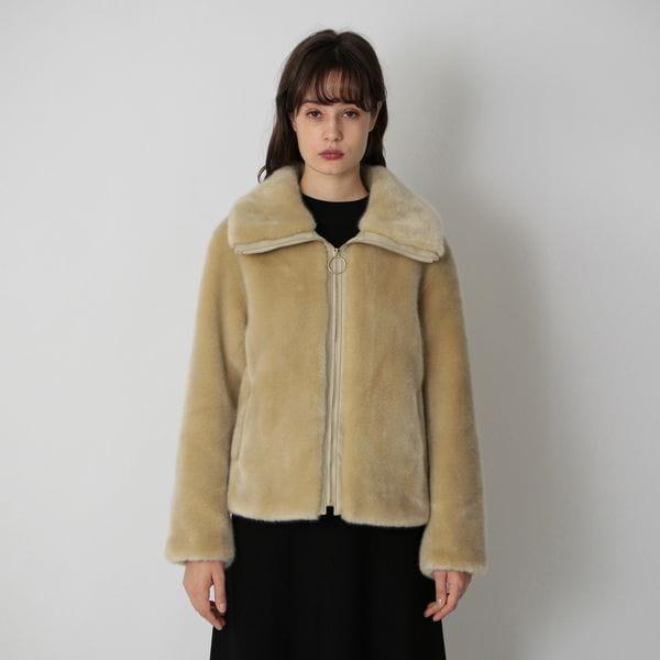 エコファー ショートジャケット