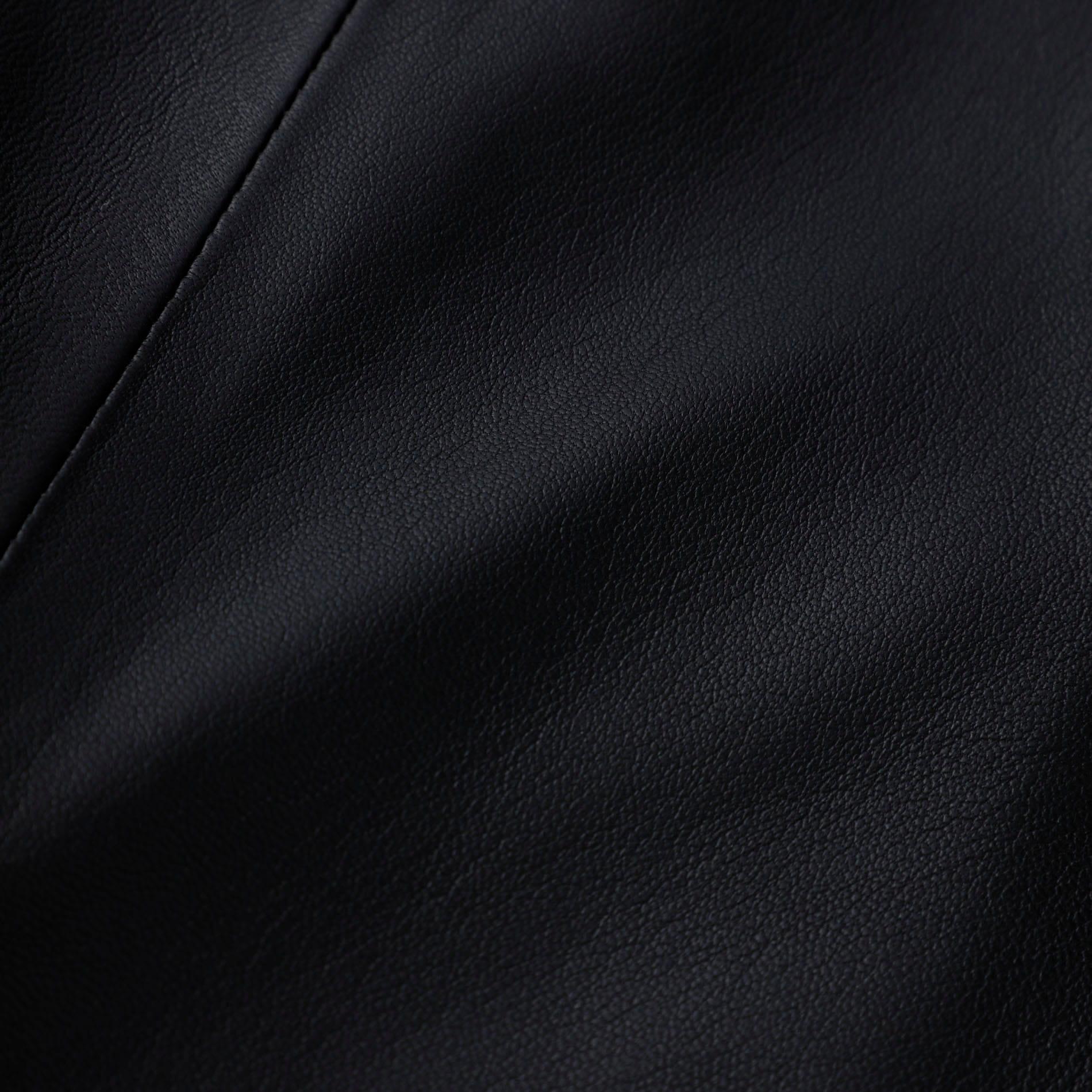 ブラック レザー ダブルライダース