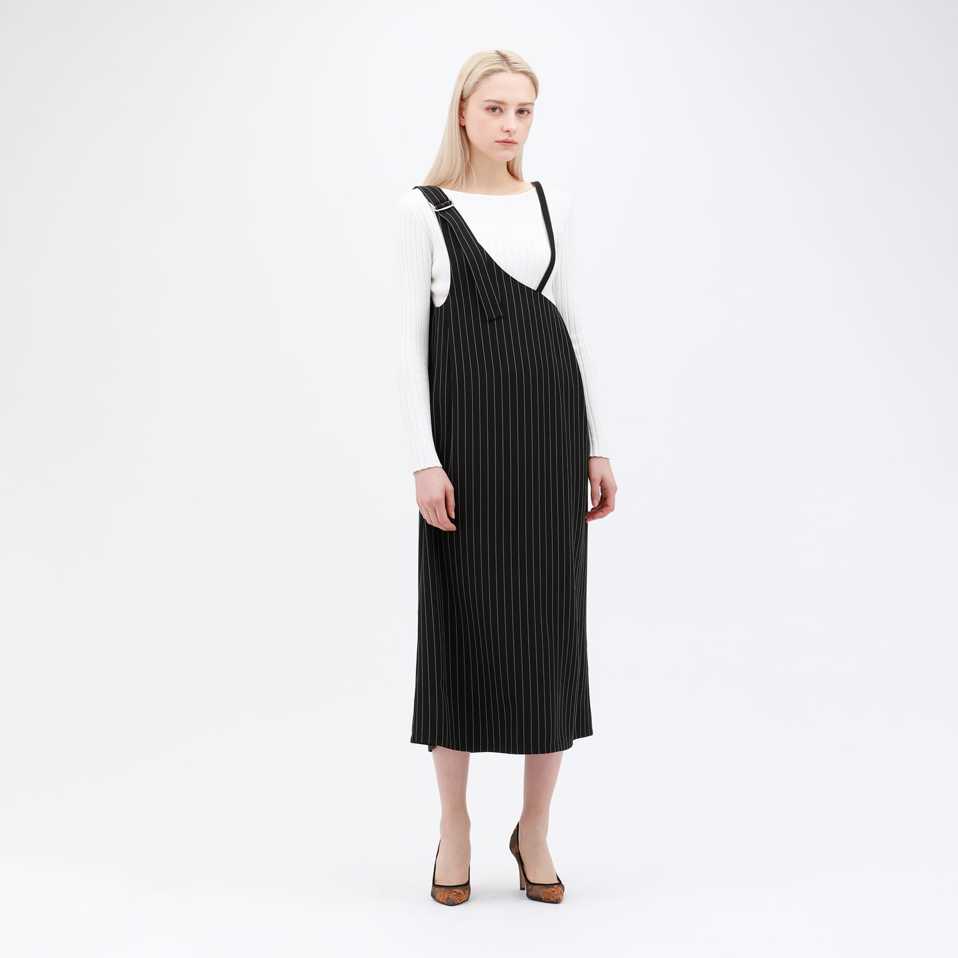 ワンショルダー スタイリング ドレス