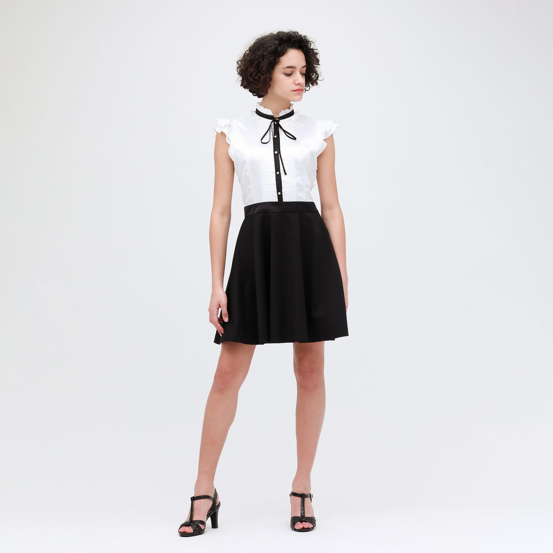 タックリボン ドレス