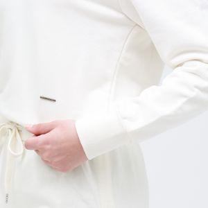 サイドスリット スウェット ドレス