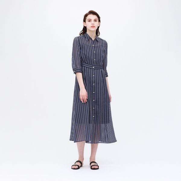 ◆◆シアーストライプ ドレス