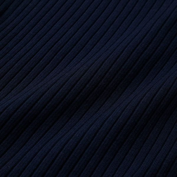 ネイビーアシンメトリー カラーブロック ドレス