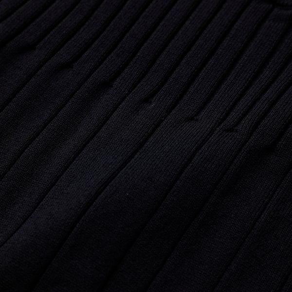ストライプ ブロッキング ニットドレス