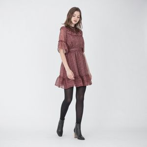 ブルーム フリル ショートドレス