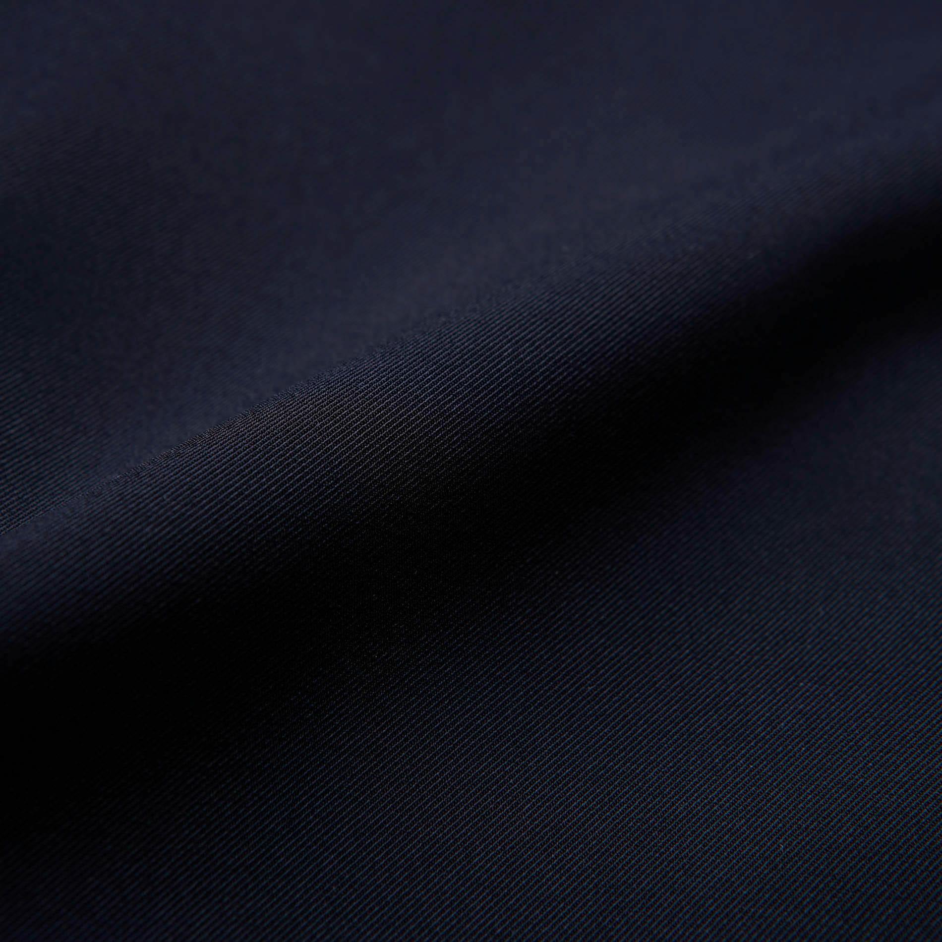 【返品送料無料】ネイビー ジオメトリック シャツカラー ドレス