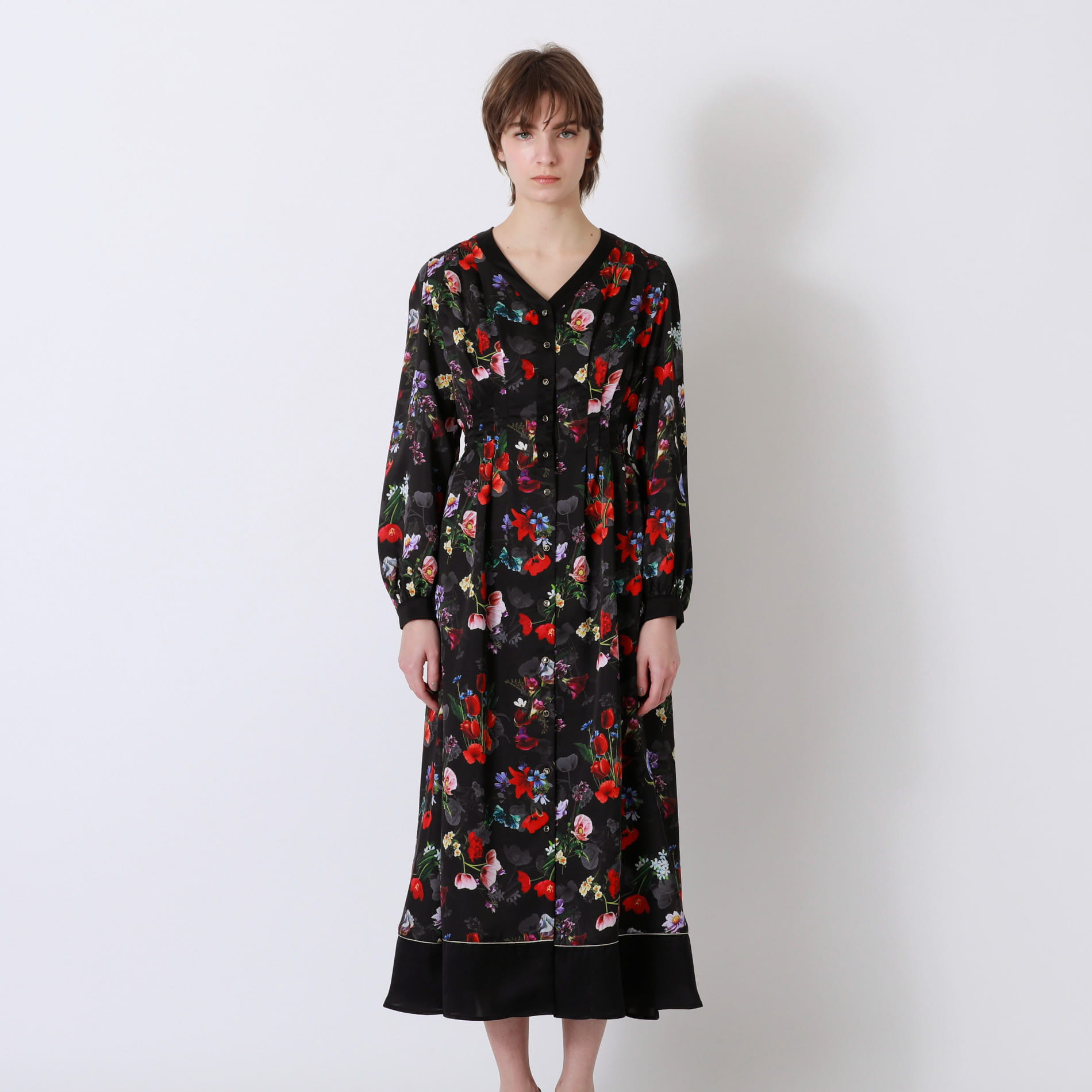 nowartt コンビ マキシ ドレス