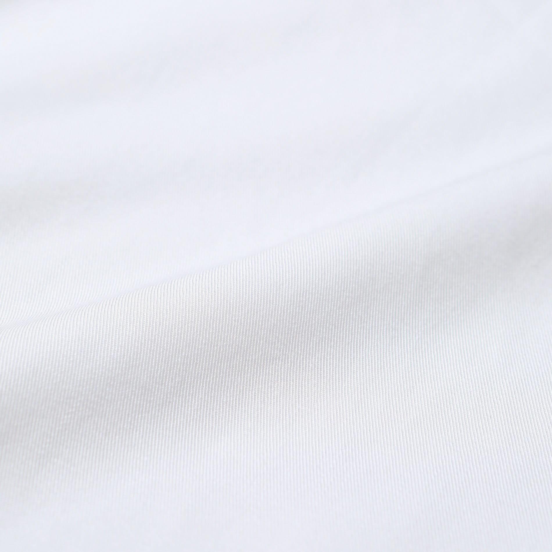 【返品送料無料】ステッチ ホワイト シャツ ワンピ