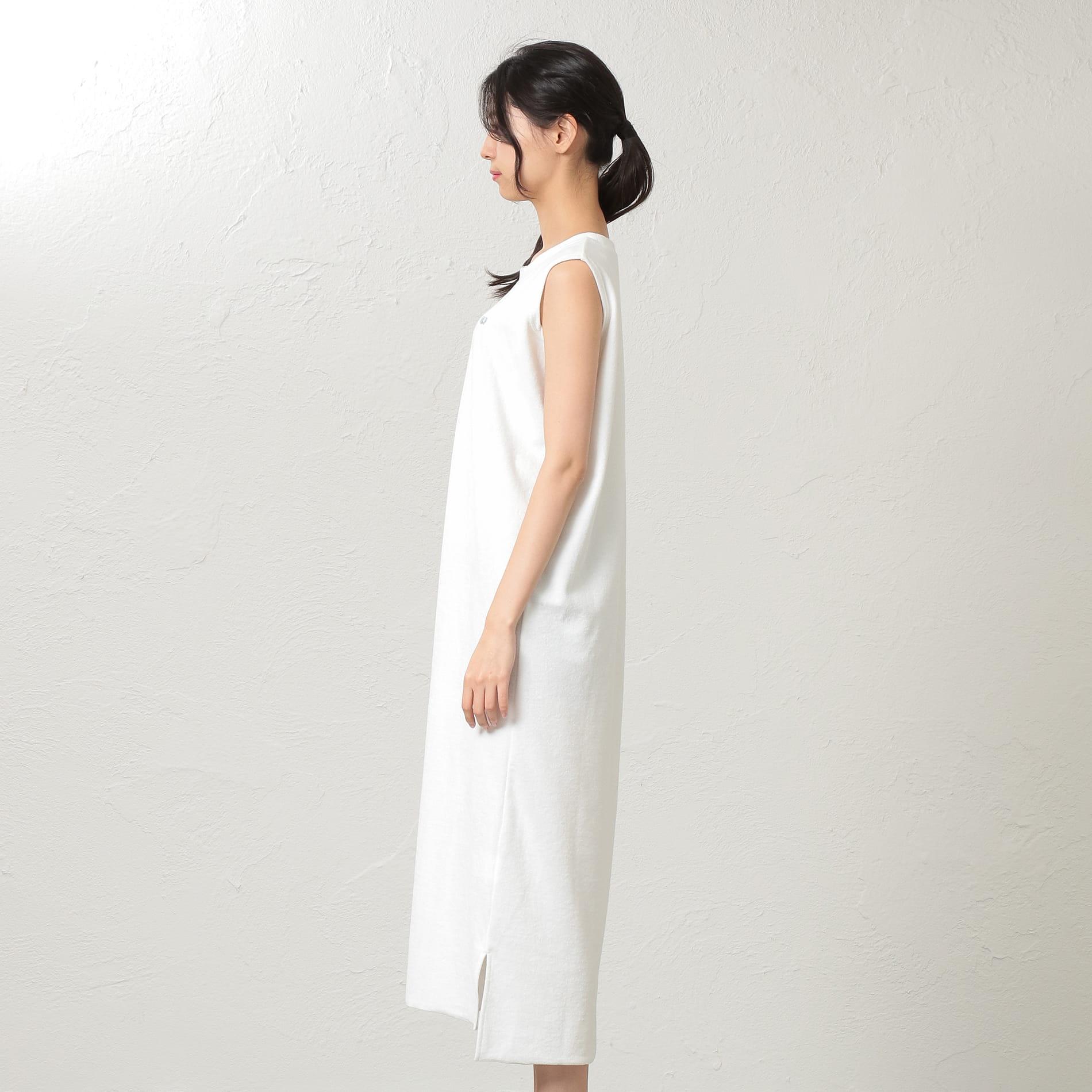 【LOVELESS×FRUIT OF THE LOOM】WOMEN フルーツオブザルームパイルドレス