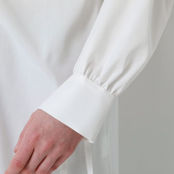 【返品送料無料】バックディティールシャツドレス
