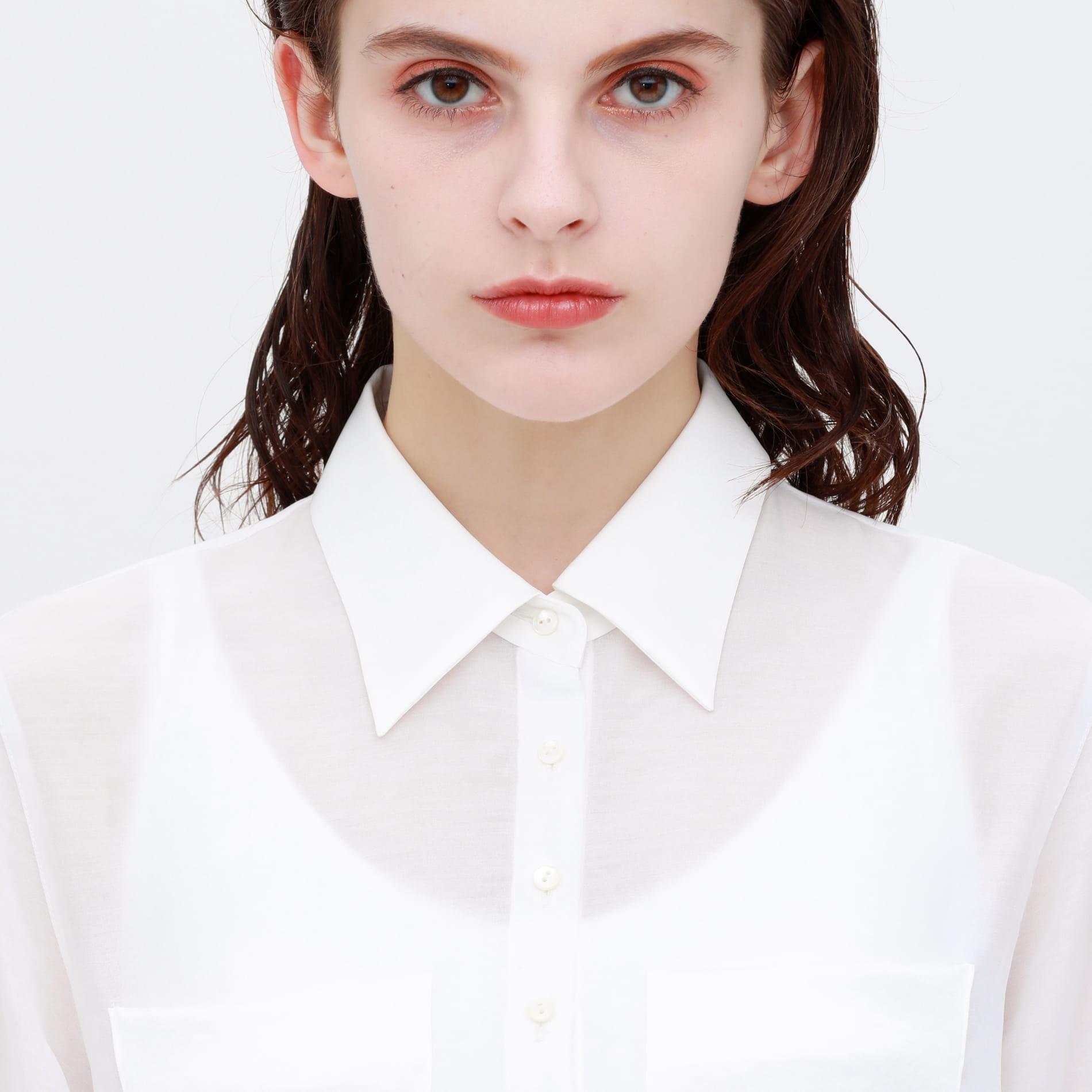 シアー ロングシャツ