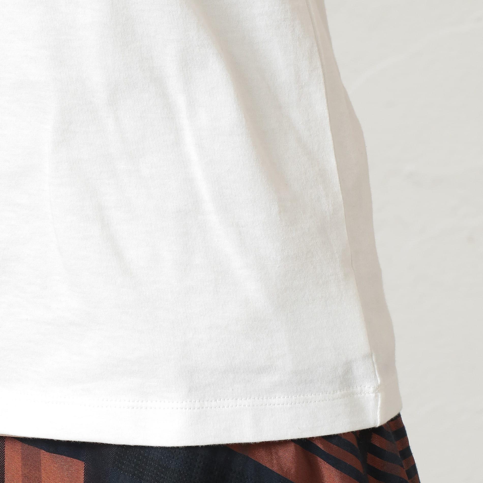 WOMEN ポリクレストLOGOTシャツ