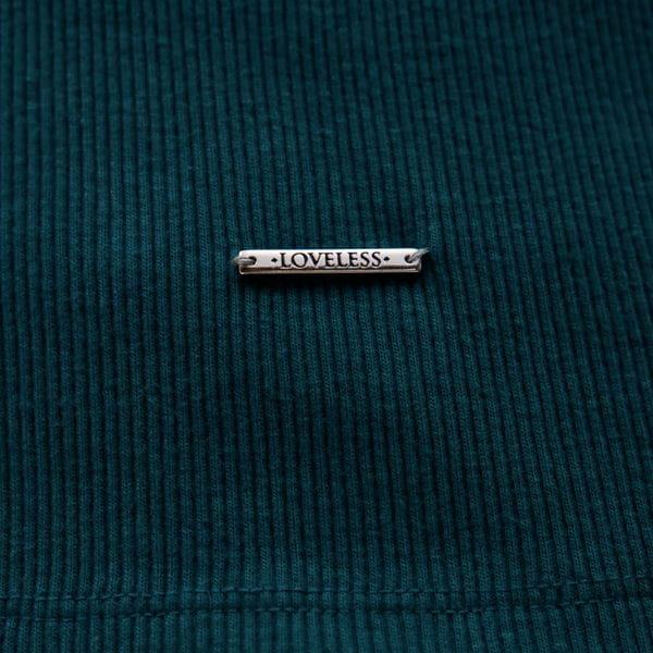 〈タイムセール〉【otonaMUSE10月号掲載】ホックネック テレコ ロンT