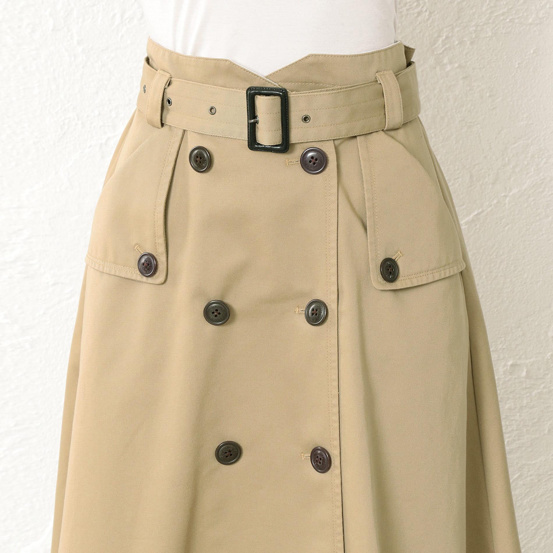 WOMEN Dickies×FIDELITY トレンチスカート