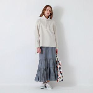 マイクロサテンヴィンテージスカート