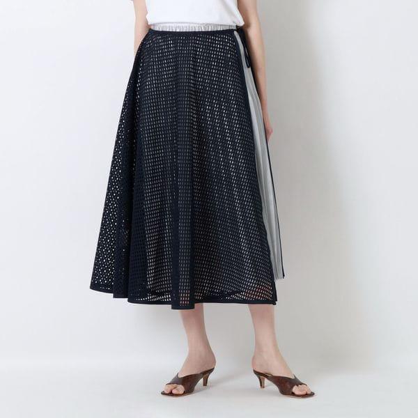 メッシュコンビスカート