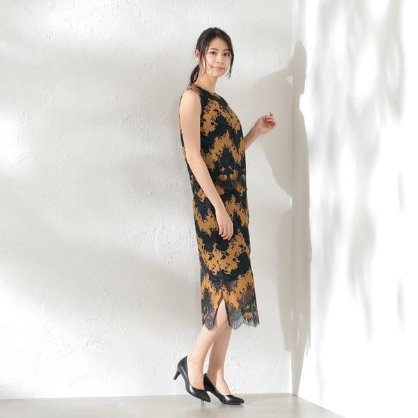 【LOVELESS×otona MUSE】WOMEN セットアップレーススカート