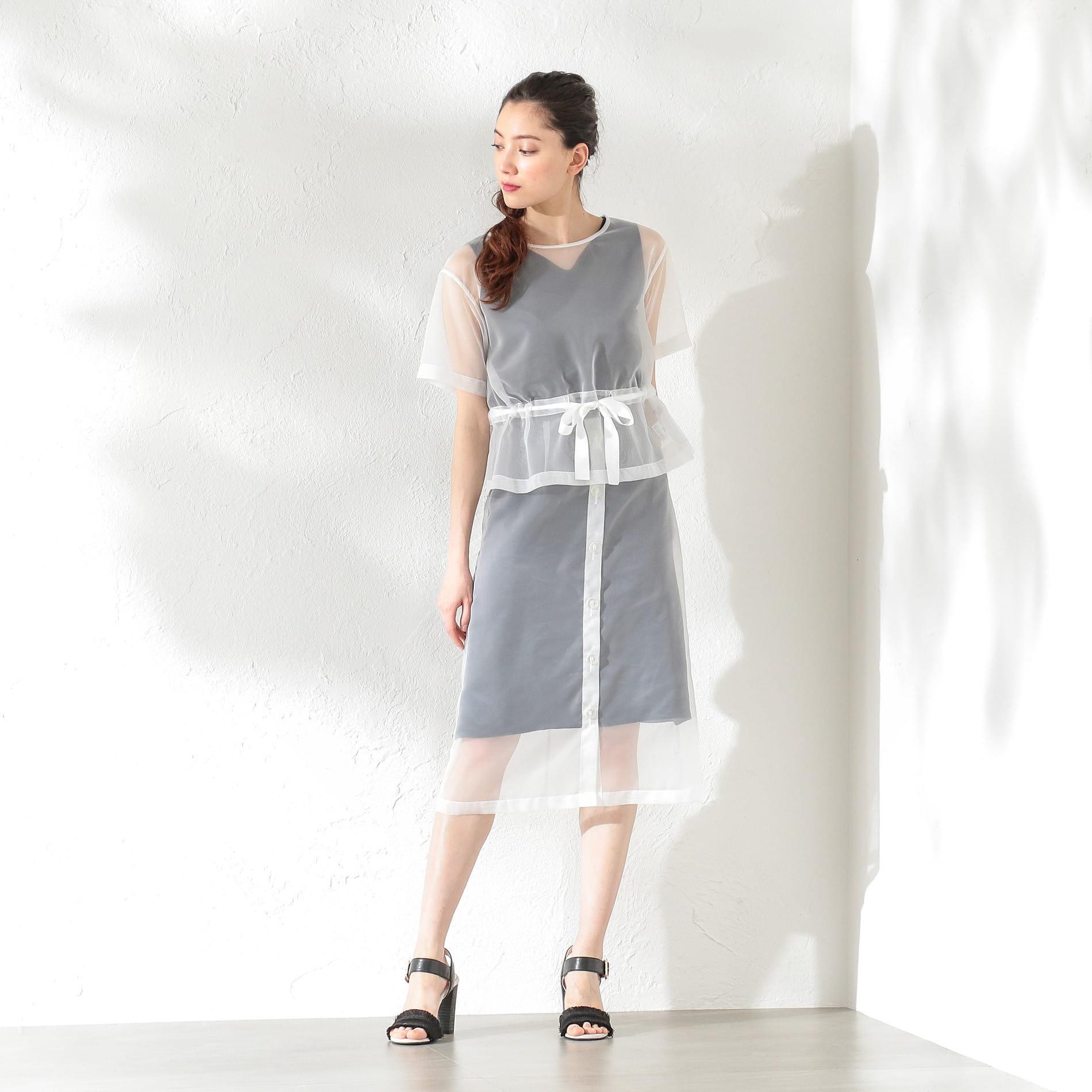 WOMEN シアースカート
