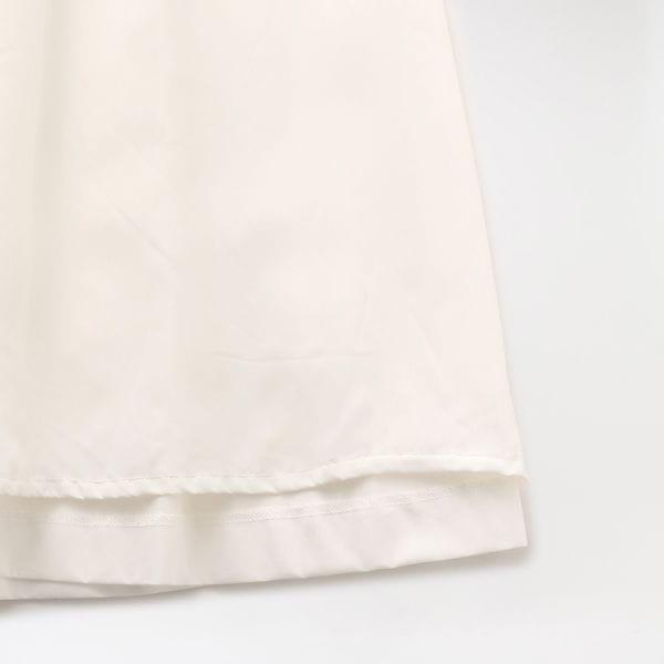 エンブロイダリー レースコンビスカート