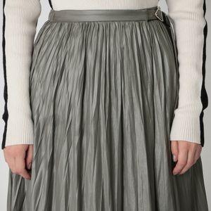 プリーツ ラップ スカート