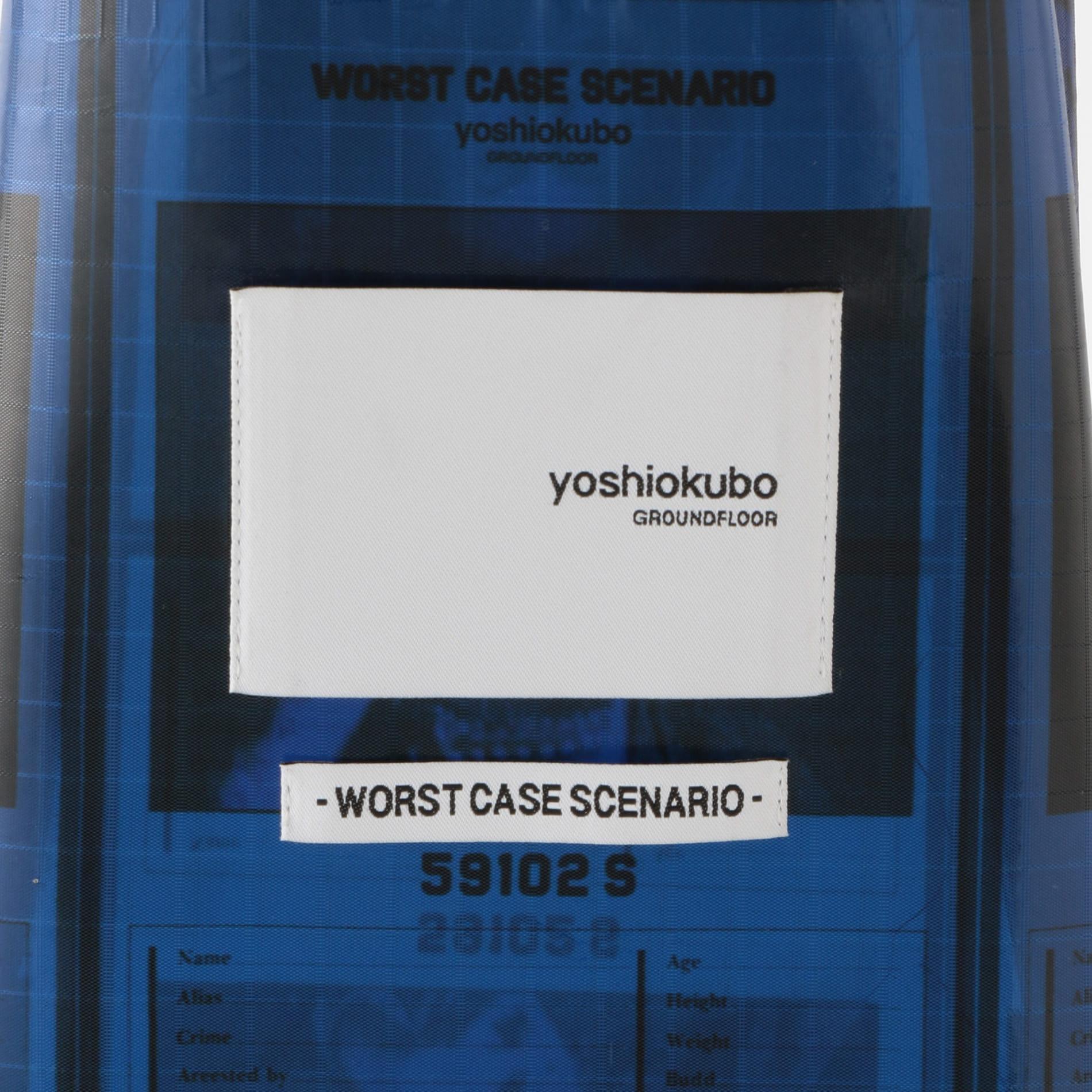 【yoshiokubo GROUNDFLOOR】MEN 別注WANTEDパスポートケース
