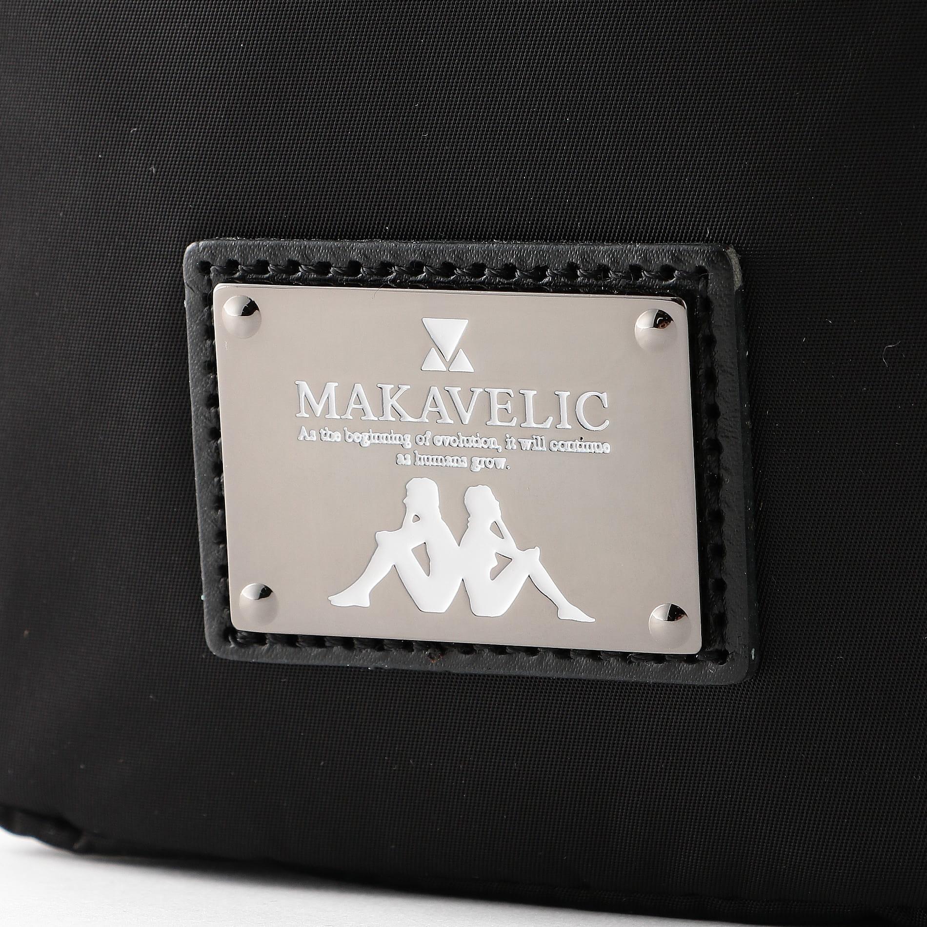 〈タイムセール〉【MAKAVELIC×Kappa】MEN ショルダーポーチ KL918BA04