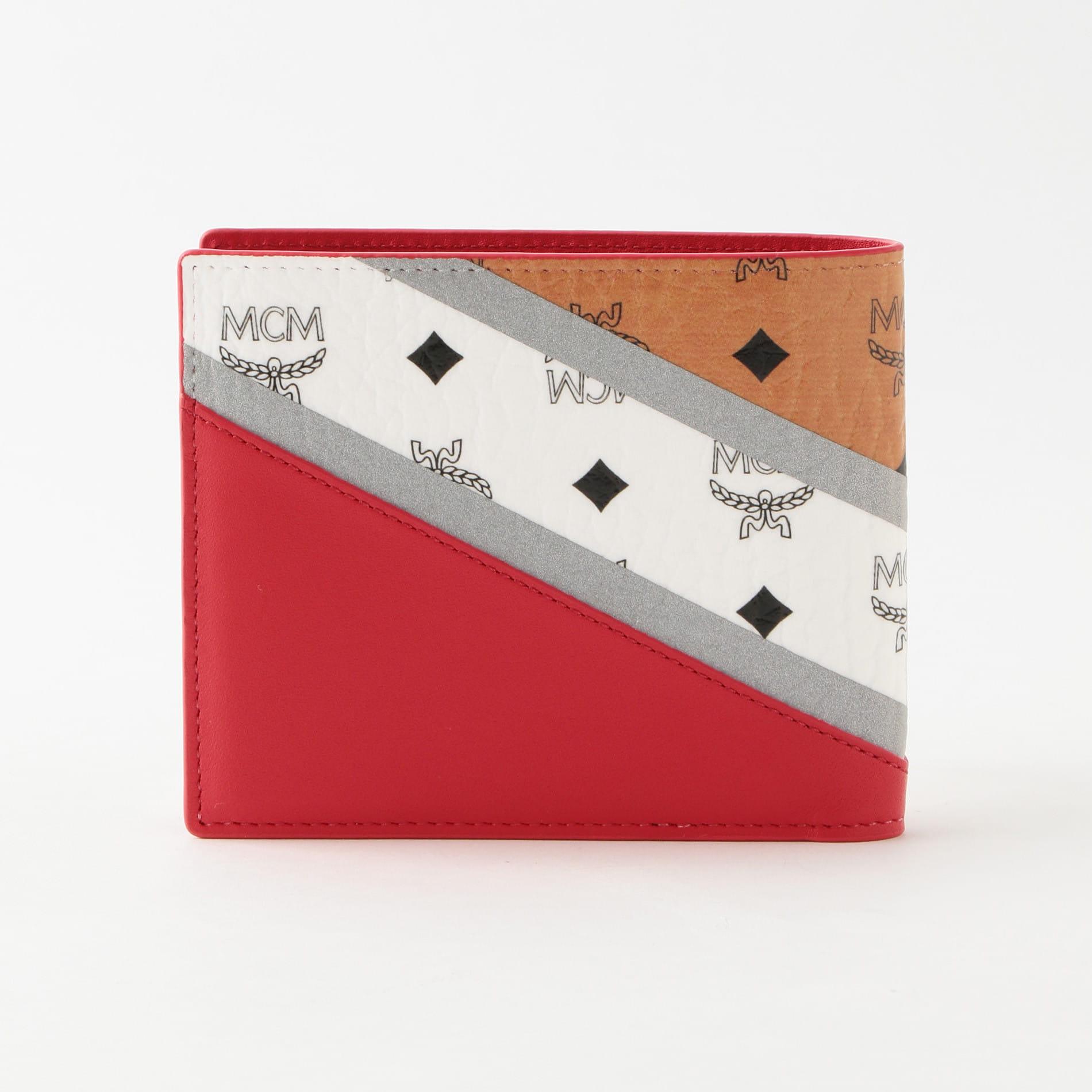 【MCM】二つ折り財布 VISETOS MXS9SCV30