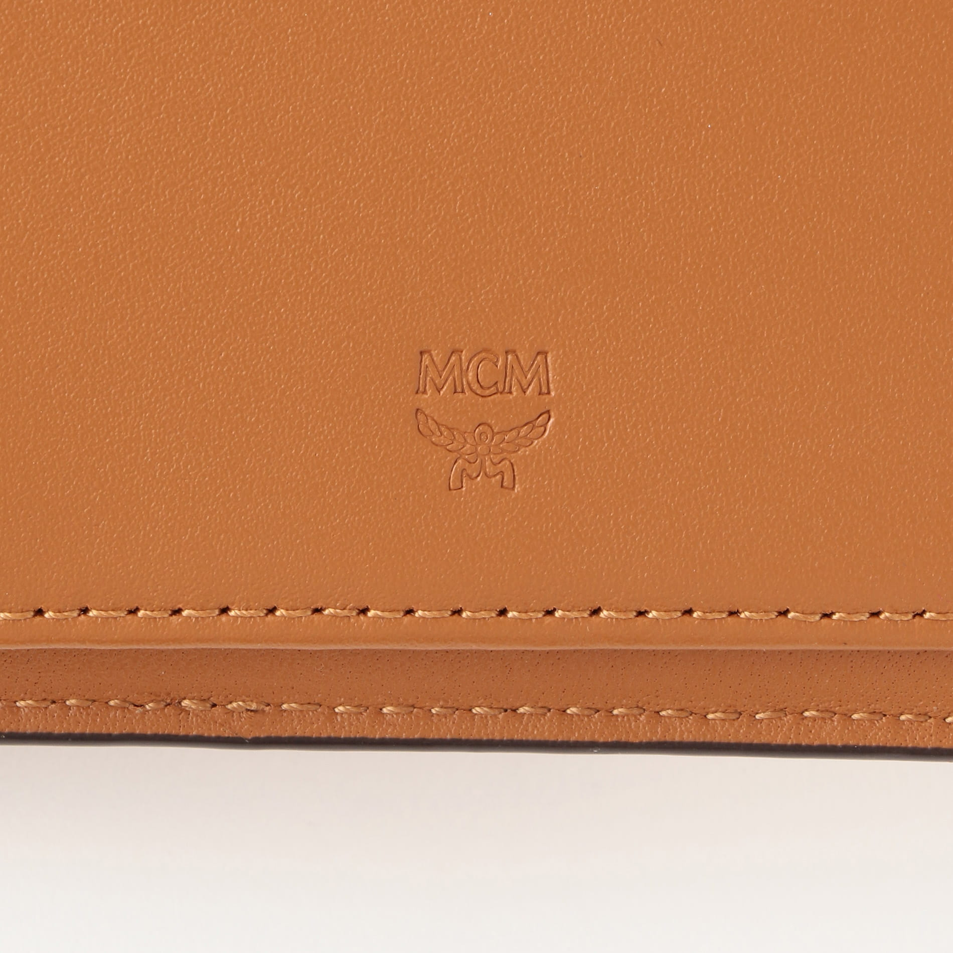 【MCM】二つ折り財布-VISETOS ORIGINAL FLAP WALLET/TWOFOLD SMALL- MXS8SVI35