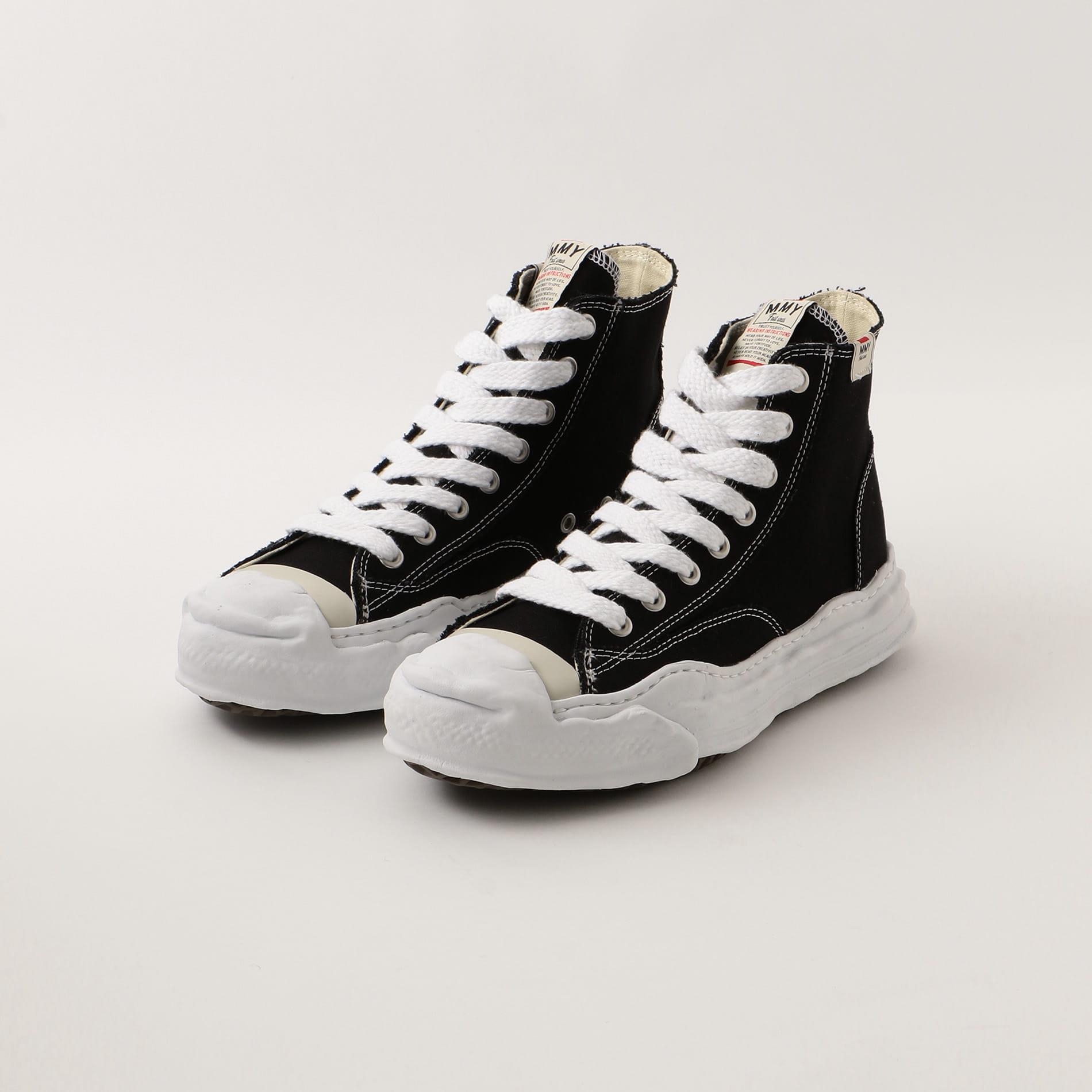 【Maison MIHARA YASUHIRO】MEN original sole canvas hitop sneaker A05FW701