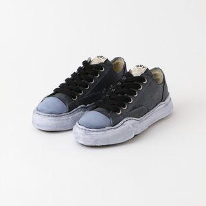 【Maison MIHARA YASUHIRO】MEN スニーカー original sole over dyed low-cut sn A06FW717