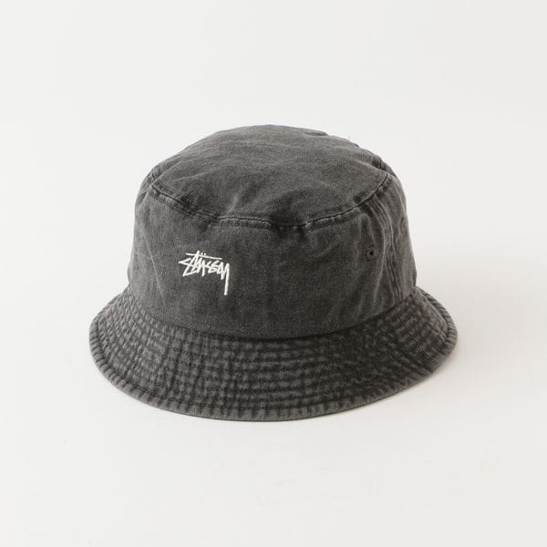 【Stussy】MEN 帽子 Stock Washed Bucket Hat 132980