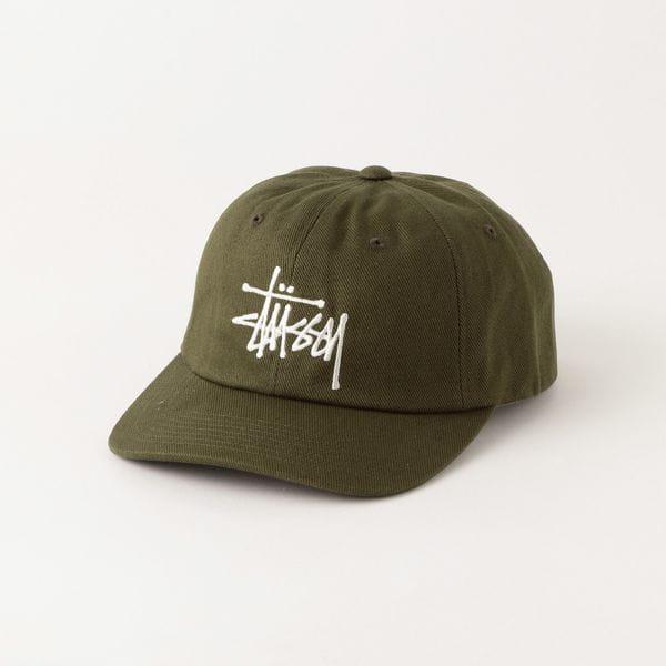 【Stussy】MEN 帽子 Big Logo Twill Low Pro Cap 131977