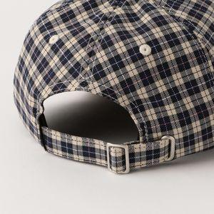 【Stussy】MEN 帽子 Plaid 2Tone Low Pro Cap 131980