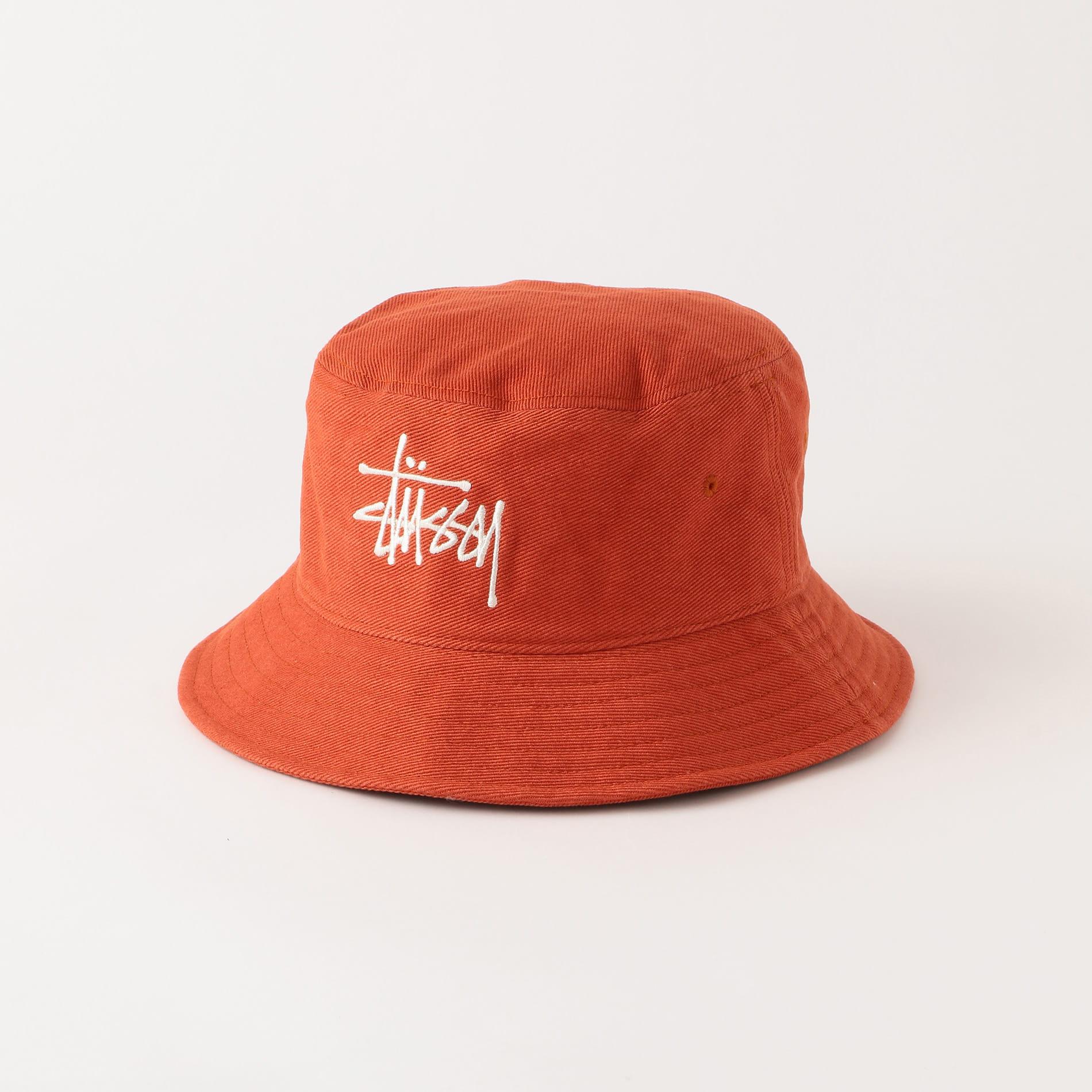 【Stussy】MEN ハット Big Logo Twill Bucket Hat 1321024