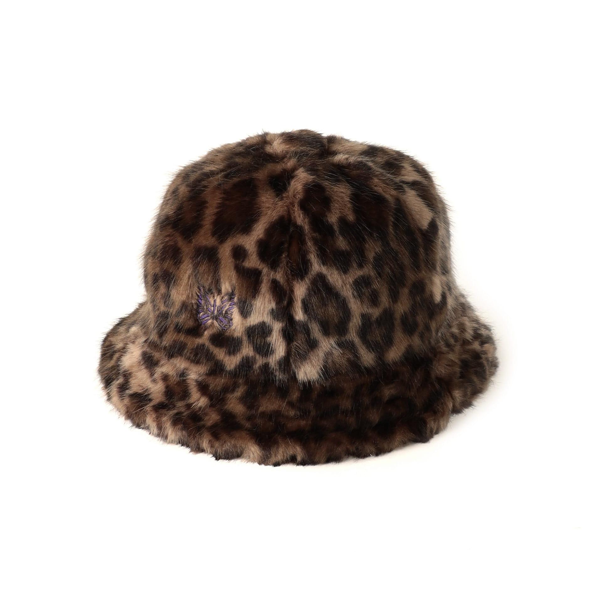 【Needles】MEN ハット Bermuda Hat - Faux Fur / Leopard JO035