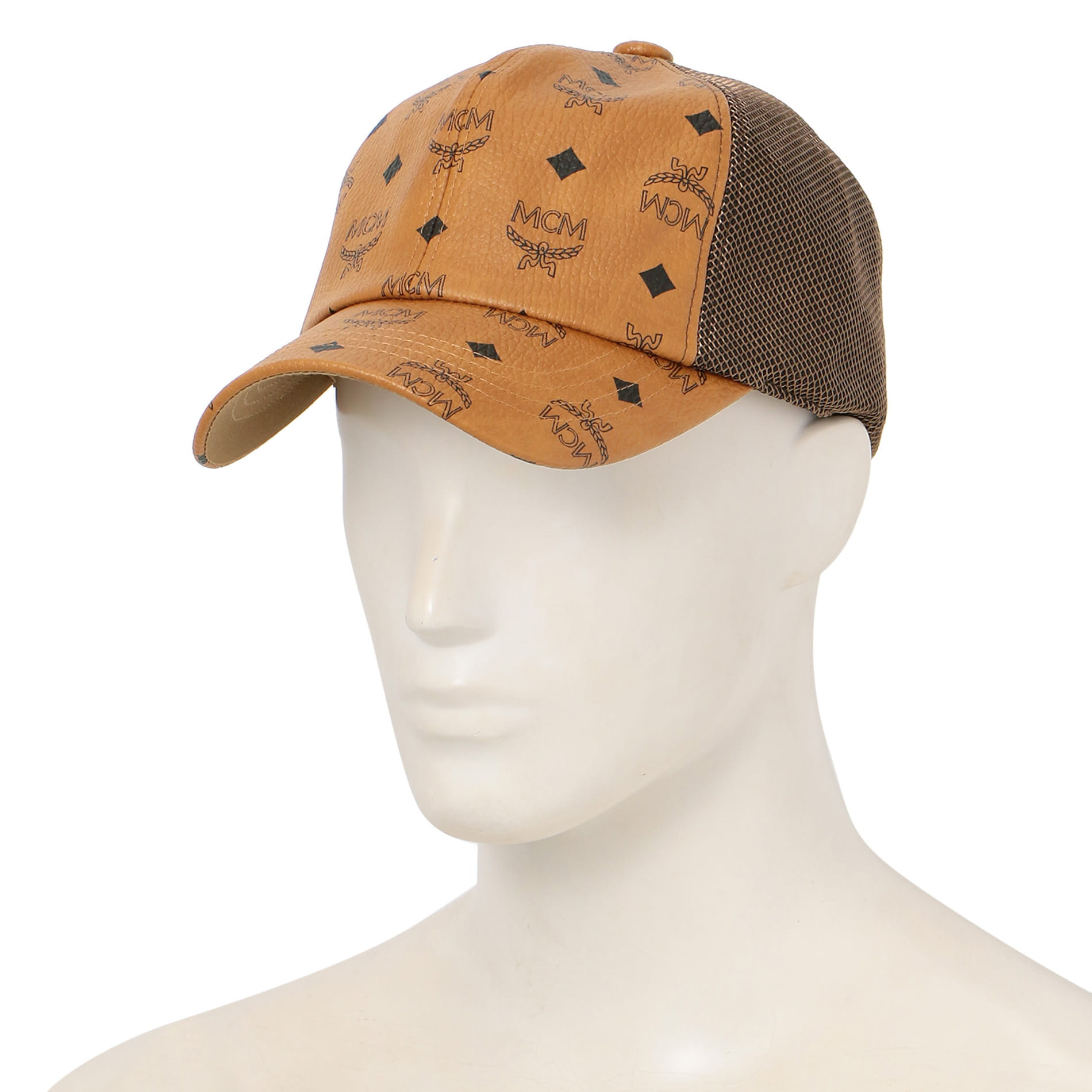 【MCM】MEN キャップ MCM COLLECTION CAP MEC9A2K10